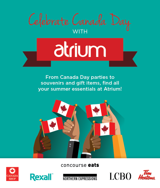 Celebrate Canada Day at Atrium