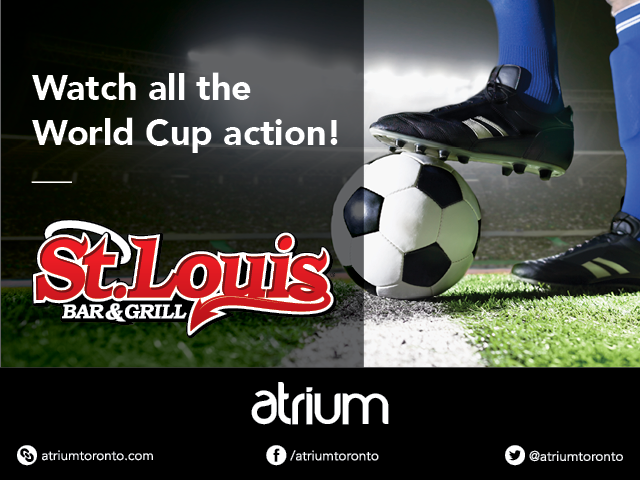 World Cup Action at Atrium